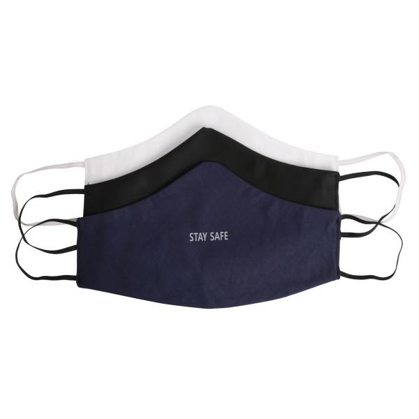 3x Maske STAY SAFE